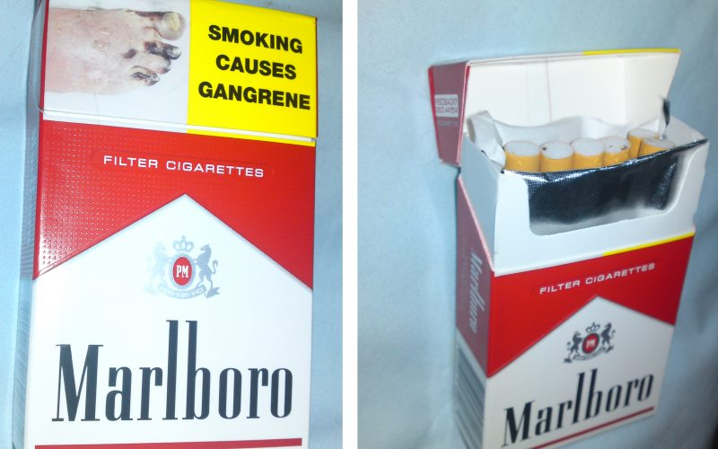 How Much Is In A Carton Of Cigarettes??